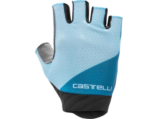Castelli Roubaix Gel 2 Gloves Women, celeste